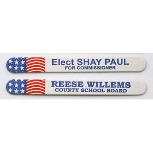 Red, White and Blue Emery Board